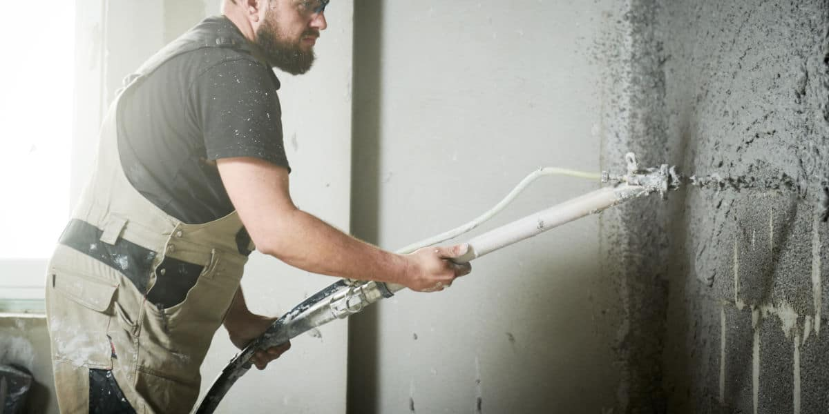Wand drainage kelder
